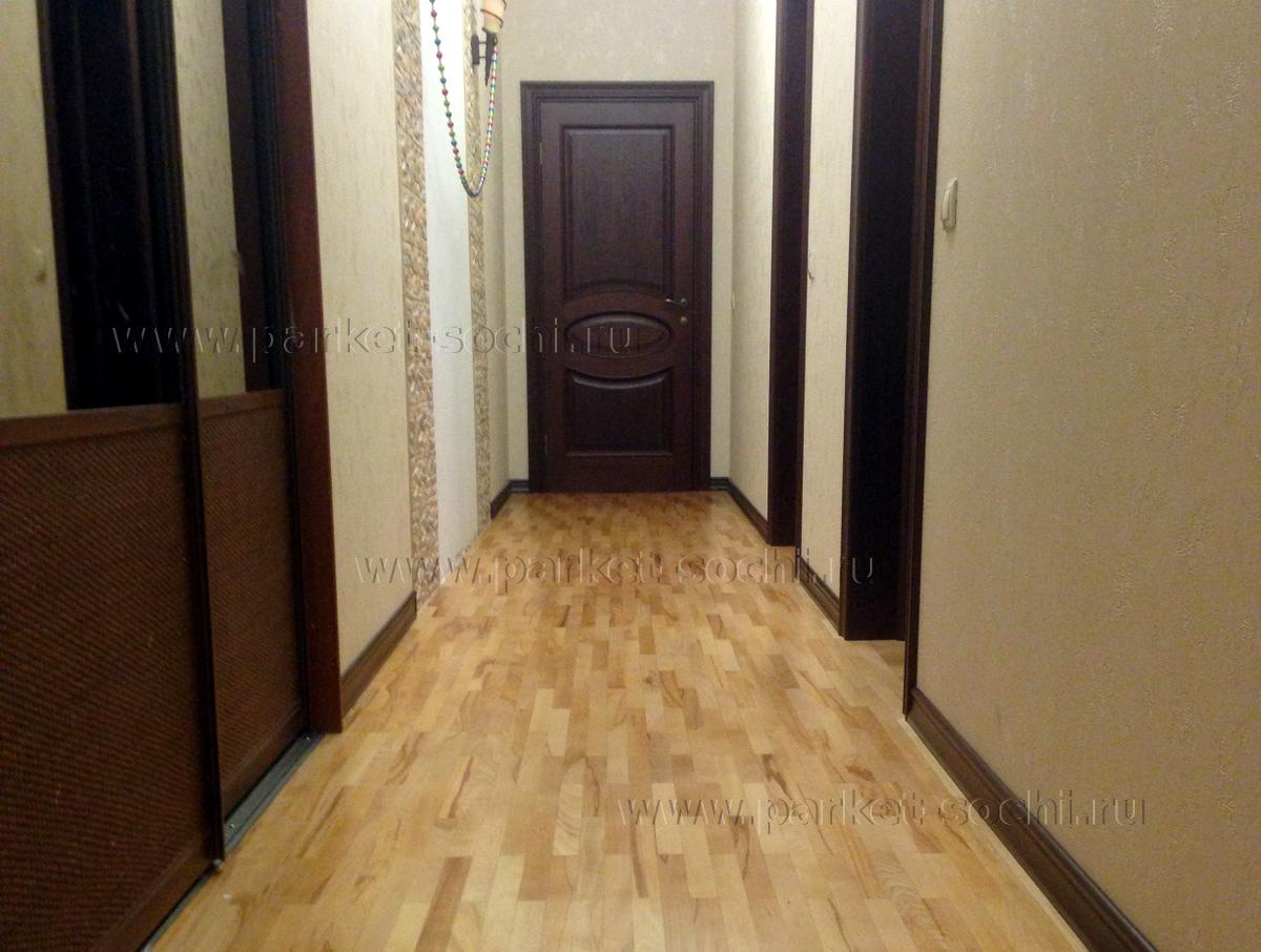 Светлый или темный пол (деревянные полы, ламинат) в